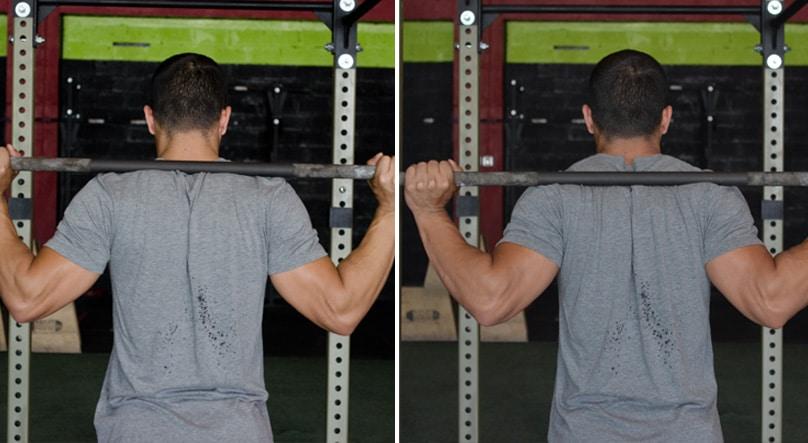 Image result for high bar vs low bar squat