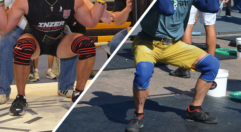 Knee Wraps Vs Knee Sleeves What S The Difference Boxlife Magazine